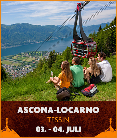 Migros Hiking Sounds AsconaLocarno - 03. - 04. Juli