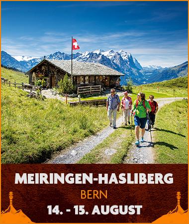Migros Hiking Sounds - Meiningen, 14. - 15. August